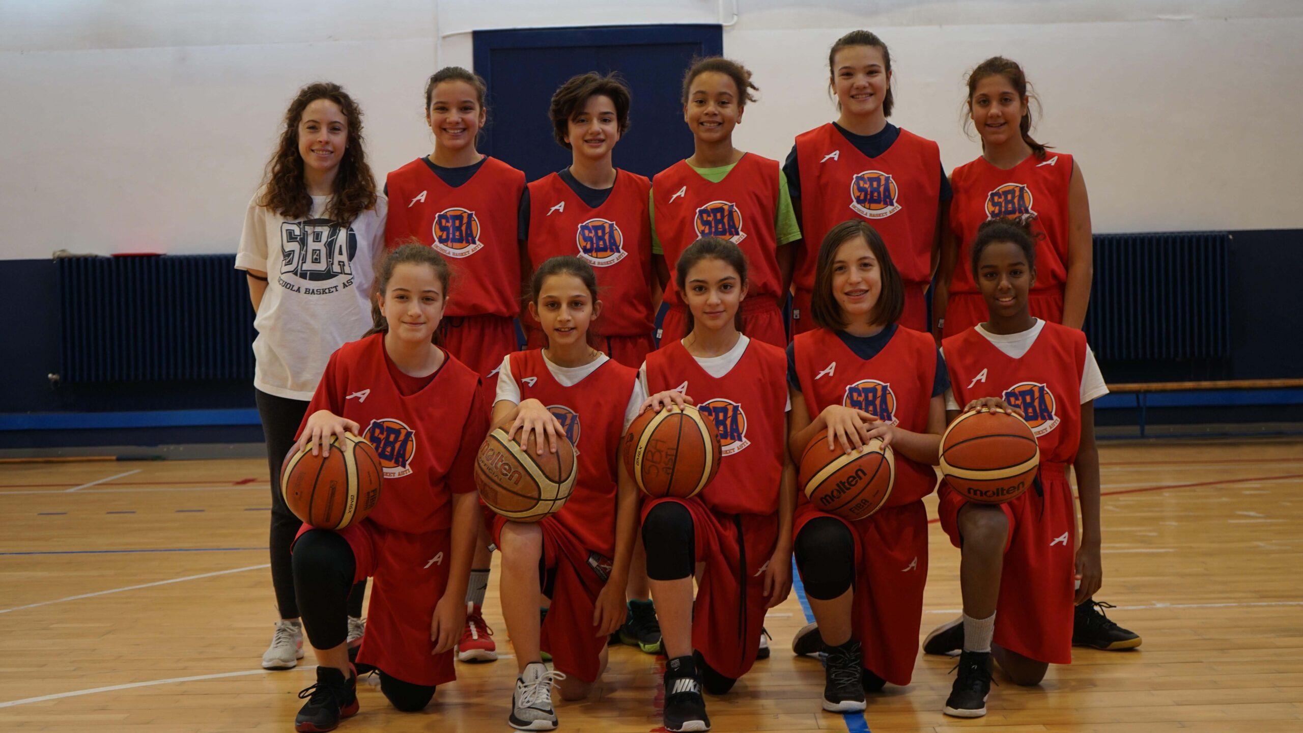 Under 13 femminile SBA 2019-2020
