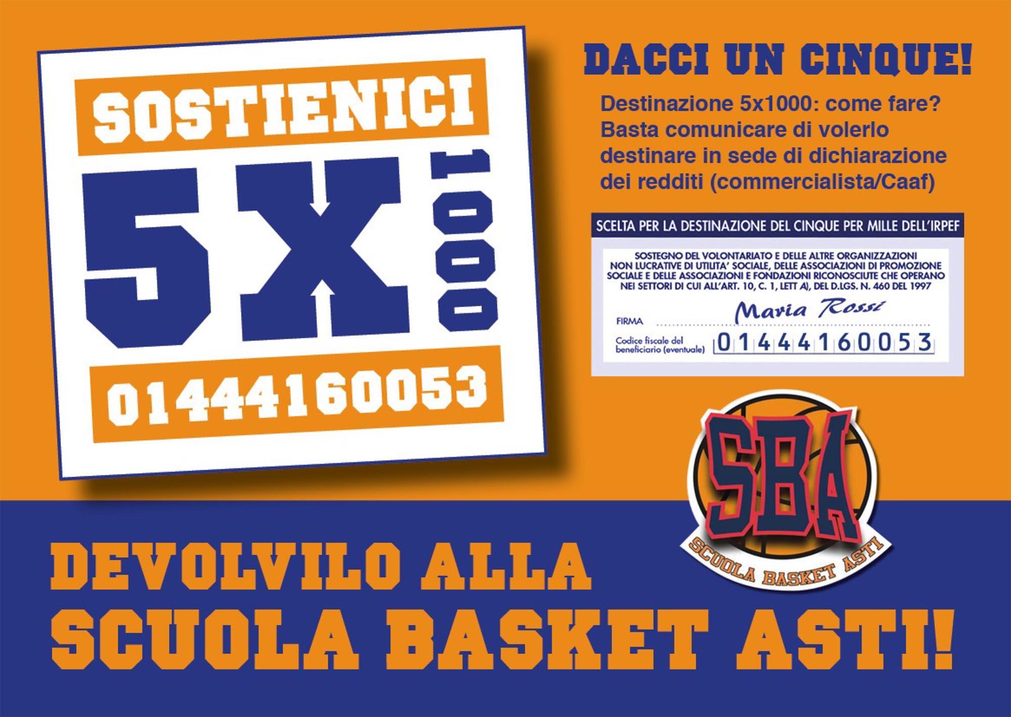 Volantino 5X1000 SBA 2020