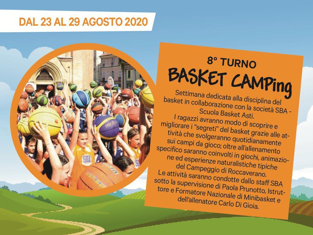 Basket camping 02- 23 29 agosto 2020