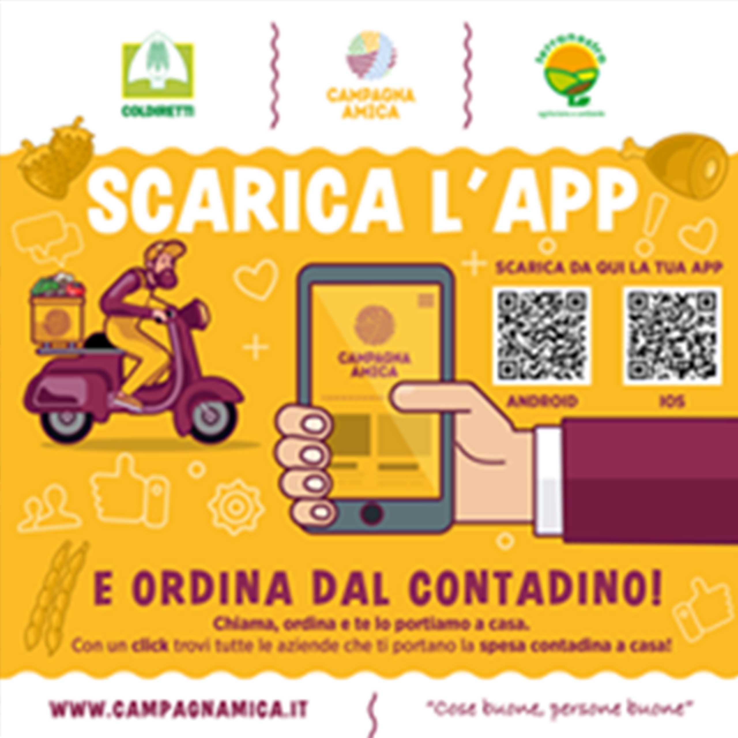 Locandina 2 campagna amica QRcode 2020