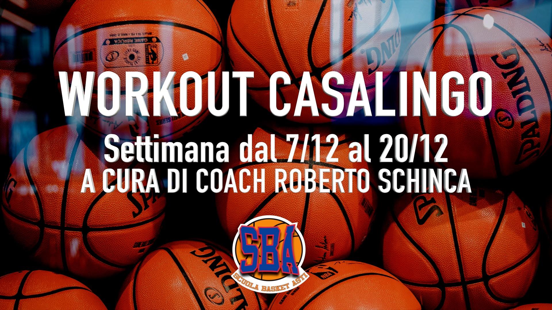 Workout Casalingo – Settimana dal 7 al 20 Dicembre  #NOINONCIFERMIAMO