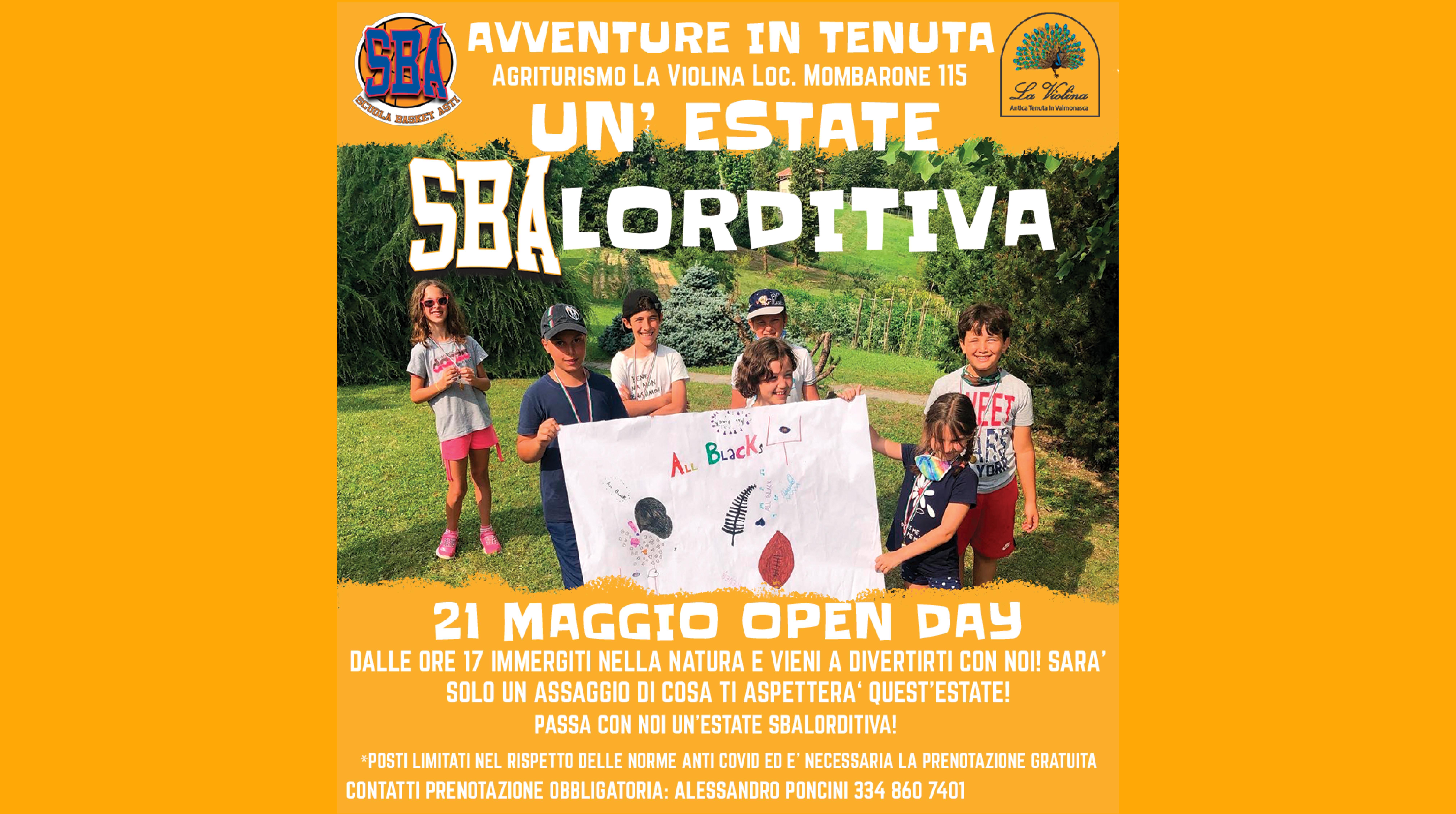 Open Day: un'Estate di SBAlorditiva!
